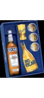 COFFRET RICARD ANNEES 50 - EDITION SPECIALE + 1 CARAFE & 4 VERRES