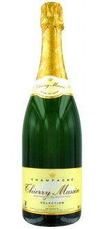 CHAMPAGNE THIERRY MASSIN - CUVEE SELECTION BRUT (France - Champagne - Champagne AOC - Champagne Blanc - 0,75 L)
