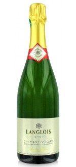 DOMAINE LANGLOIS-CHATEAU - CREMANT DE LOIRE (France - Vin Loire - Crémant de Loire AOC - Vin Blanc - 0,75 L)