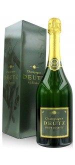CHAMPAGNE DEUTZ - BRUT CLASSIC (France - Champagne - Champagne AOC - Champagne Blanc - 0,75 L)