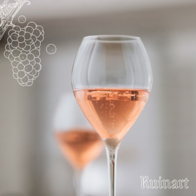 RUINART ROSÉ accord mets-vin champagne