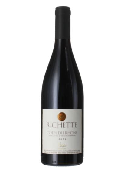 COTES DU RHONE - RICHETTE 2016 - PATRICK LESEC