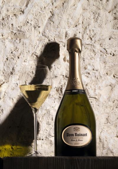 CHAMPAGNE DOM RUINART 2007 - COFFRET LUXE BLANC DE BLANCS un hommage au goût Ruinart