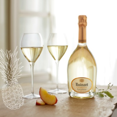 RUINART blanc de blancs accord mets-vin champagne