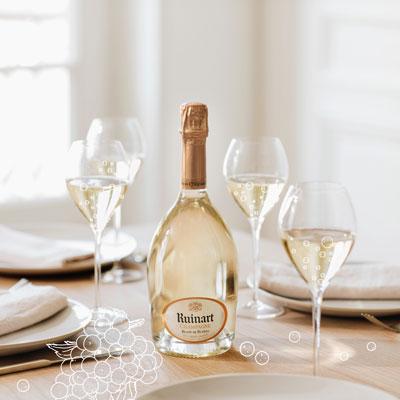 Champagnes Ruinart blanc de blancs