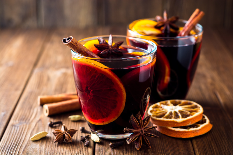vin chaud traditionnel