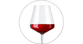 Red Pinot Noir wine
