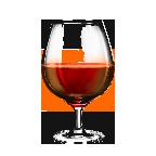 vin rouge tuilees