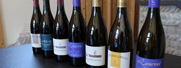 Les vins du domaine Combier à déguster