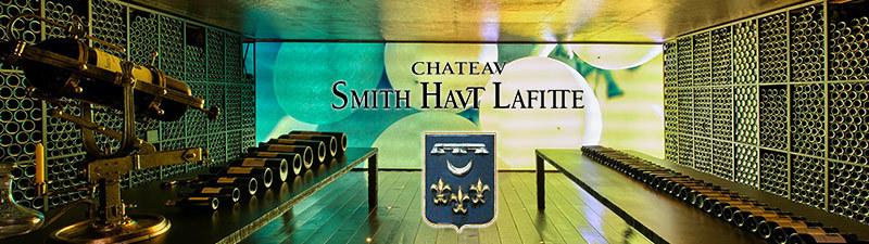 Salle de dégustation du Château Smith Haut Lafitte
