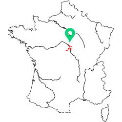 Carte de l'appellation Loire