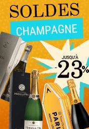 Champagnes en soldes sur vinatis