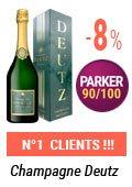 Champagne Deutz petit prix