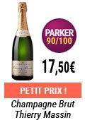 Champagne petit prix sur vinatis