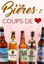 Coups de coeur Bières