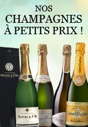 Champagnes à petits prix
