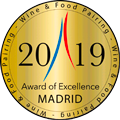 Médaille d'OR - Wine and Food Pairing Madrid 2019