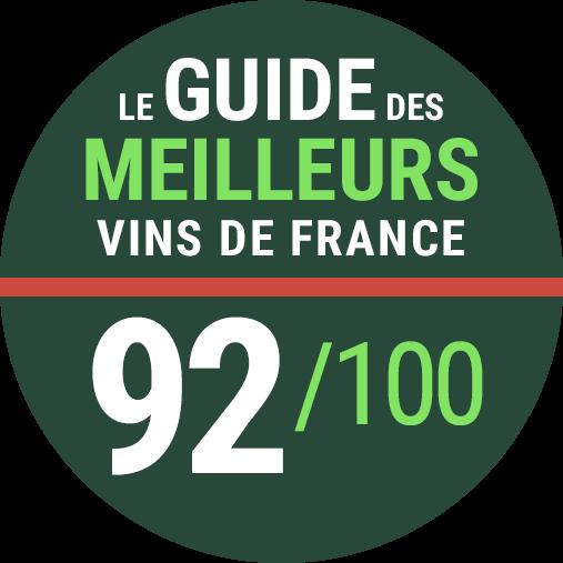 Guide Revue Des Vins De France 2022 - Note 92/100