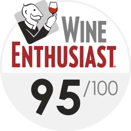 Wine Enthusiast : 95/100