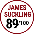 James Suckling : 89/100