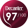 Decanter Wine Awards : 97/100
